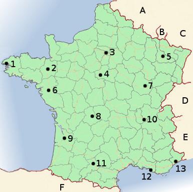 France Map Quiz.France Map Quiz Dulcineia 38